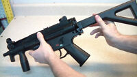 Heckler & Koch replica MP5 bb shooter.