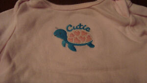 BABY GIRL carter outfits $2.00/each Kitchener / Waterloo Kitchener Area image 2
