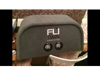 FLI Trap Profesionally Boxed Sub Woofer; 2 x 12 Inch 1000Watts = 2000Watts total and LOUD!