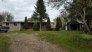 $139,900.00~~110' x 205' village LOT WITH MOBILE HOME - NO FEES