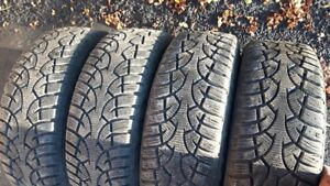 General Altimax winter tires on FIESTA rims - set of 4
