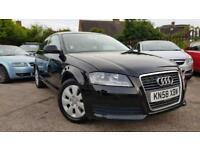 2009 AUDI A3 1.6 PETROL 3 DOOR,FULL AUDI DEALER SERVICE HISTORY,VERY GOOD CONDIT