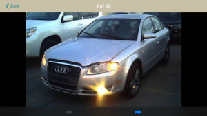 2006 AUDI A4 WITH ONLY 193000 NEEDS CV AXLE 2995$@902-293-6969
