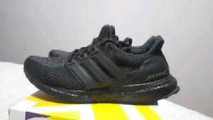 Adidas Ultra Boost Triple Black Custom
