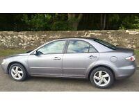 Mazda 6 TS2 2.0L 5 door (2002) year mot Leather seats
