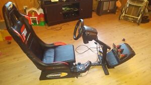 Racing seat and Wheel