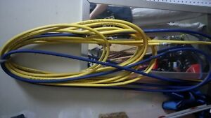 75' of air hose with fittings $10