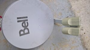 Bell satellite dish and multi-dish switch