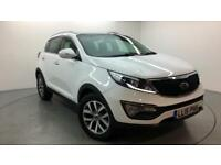 2015 Kia Sportage 2 ISG Petrol white Manual