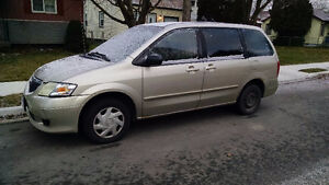 2003 Mazda MPV - comes with extra set of 4 tires - AS IS