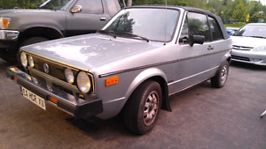 1981 Volkswagen Rabbit Convertible. Reduced Price!