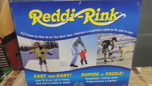 New make your own hockey or skating readdi rink