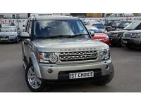 2010 LAND ROVER DISCOVERY 4 TDV6 XS LOW MILEAGE IMPANENA GOLD WITH PRIVACY