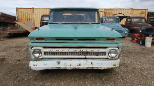 1966 C20 Long Box Will trade for Ford 390 powered car or truck