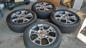 19 inch 2015 Dodge Charger tires and wheels 27,000km