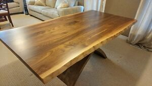Beautiful Live Edge Table, Live Edge Furniture - NO TAX