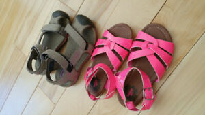 SIZE 10 Girls sandals