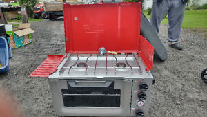 Camp stove/oven combo & grill
