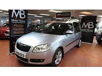2008 SKODA ROOMSTER 1.9 TDI PD 3 Pan Roof Diesel Mp3 AUX