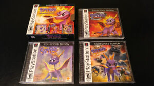 Spyro Collector's Edition Trilogy - Complete - Playstation 1