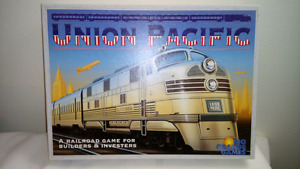 Union Pacific Railroad Board Game Like New