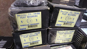 "Industrial Fasteners Sale - 5lbs of 1"" Washers for $25"