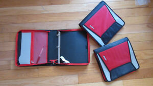 BRANE NEW: FIVE STARS/ ZWIPES/ HILROY ZIPPER BINDERS- NO TAX
