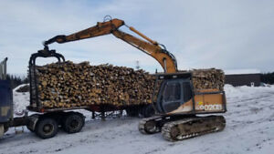 1996 9020 Case wood loader
