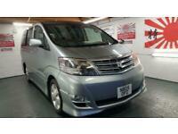 Toyota Alphard 2.4 grey petrol automatic 8 seater mpv jap import corrosion free