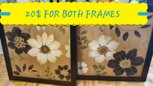 2 PICTURE FRAMES FOR 20$