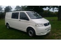 VW t5 transporter T32 tDi T32 LWB CAMPER READY CARPETED VELTRIM 2009