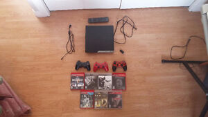 PlayStation 3 Bundle with great games & 3 controllers