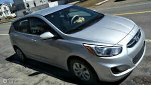 Lease transfer- HYUNDAI ACCENT 2016