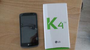 Téléphone LG K4