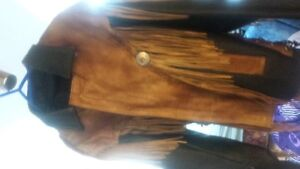 Motorcycle Jacket Long Fringe  , Beautiful look