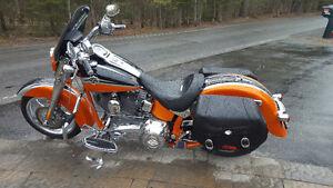 Harley Davidson FLSTSE  CVO  softail convertible 2010