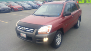 Kia Sportage AWD 4cyl 5 Speed manual!!!