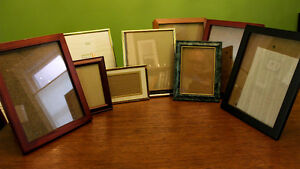 10 Picture Frames, various sizes