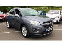 2013 Chevrolet Trax 1.6 LT 5dr Manual Petrol Hatchback