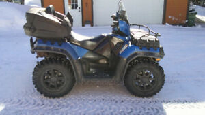 Polaris sportsman touring 550 2011 vrai 2 places full equiped