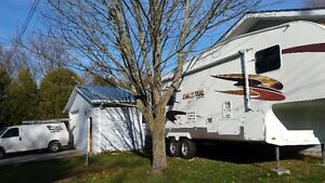 cross roads fifth wheel trailer 29ft