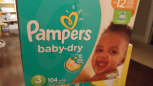 Diapers size 3 !!