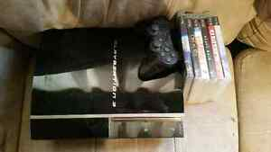 80 gig PS3 w/games