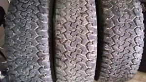 BFGoodrich tires KO x3