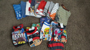4T Boys shirts and pjs