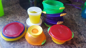Kids dishes and utensils