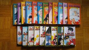 InuYasha Manga Volumes 1-21