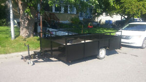 fully refurbished utility trailer