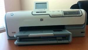 HP D7260 Photo Printer - FREE