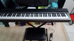 Casio piano PX130 with Stand and bench (88 keys)